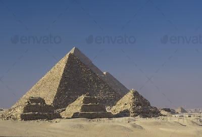 Zoser and Giza Pyramids