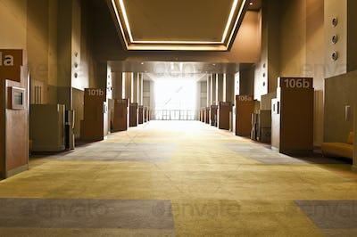 Corridor in Conference Center