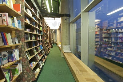 Bookstore Reading Bench