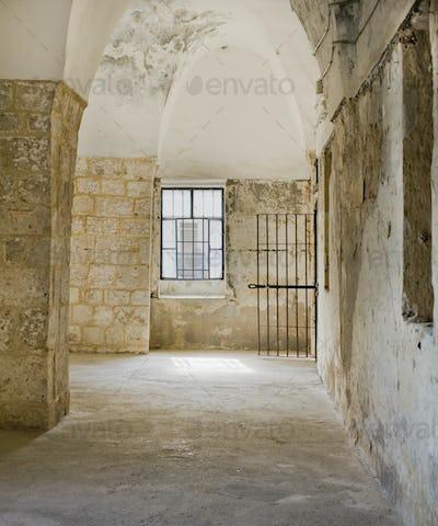 Ottoman-Style Arched Corridor