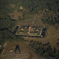 Buddhist Monastery at Point Arena, California