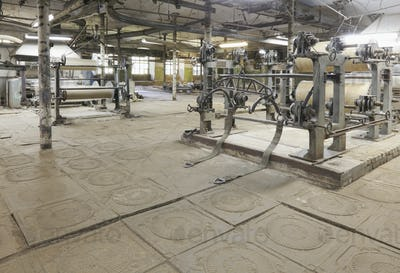 Old Textile Factory Interior