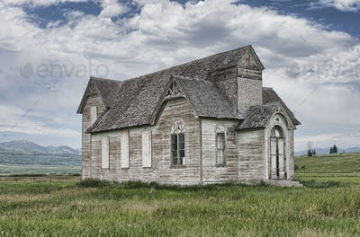 Abandoned Countryside Church