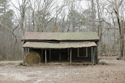 Decaying Rural Home