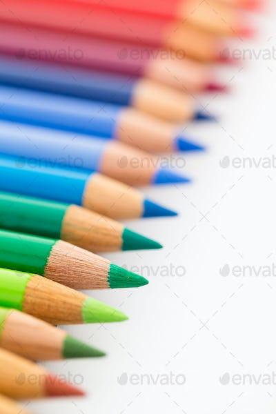 Group of Colour pencil