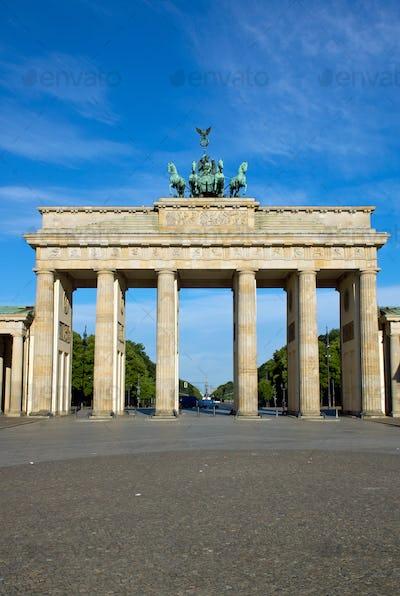 The famous Brandenburger Tor