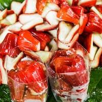 Rose apple piece