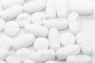 White mixing medicine