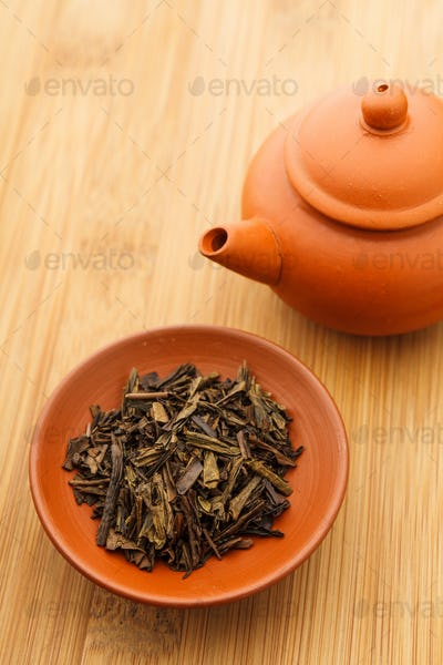 Chinese tea leave