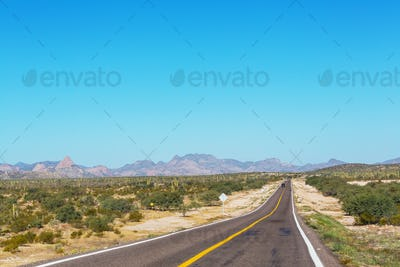Road in Mexico
