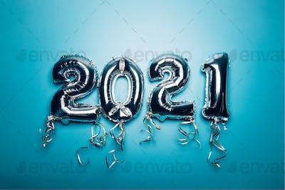 Balloon Bunting, New Year 2021