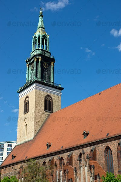 The Marienkirche in Berlin