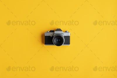 Ruistic old analog camera