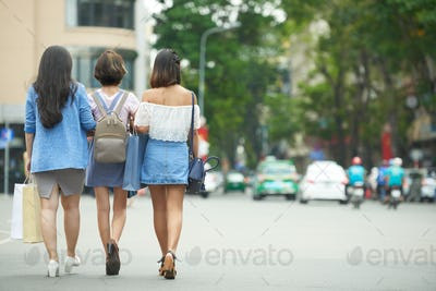 Walkinf friends
