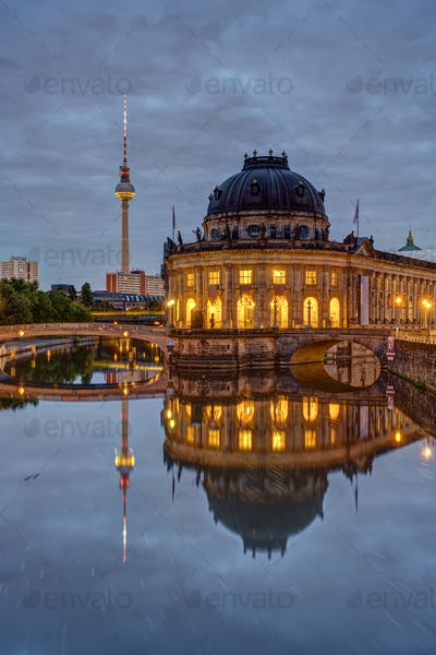 The Museum Island and the Television Tower