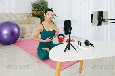 Recording workout video