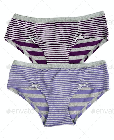 purple striped pants