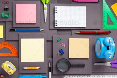 school or office accessories and supplies