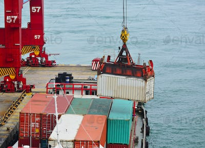 container cargo operation