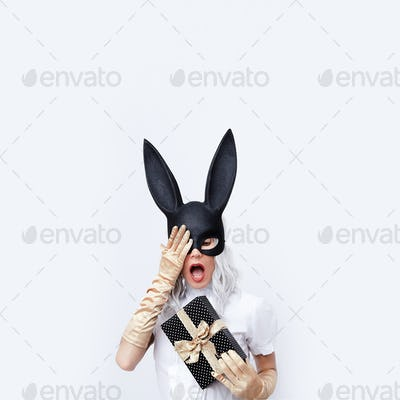 Fashion Magic Rabbit Lady