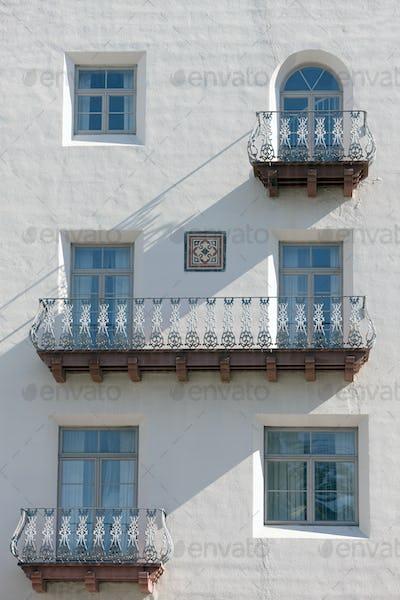 Colonial Era Balconies