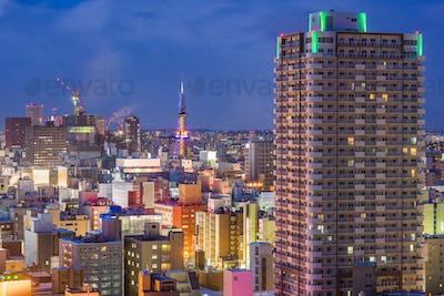 Sapporo, Hokkaido, Japan Cityscape