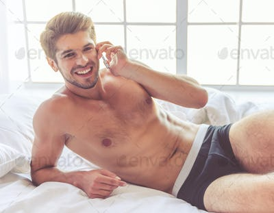 Sexy young man