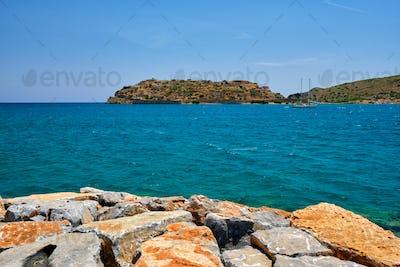 Island of Spinalonga, Crete, Greece
