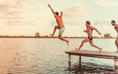 Guys on the sea