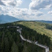 Treetop Walk Bachledka in High Tatra Mountains