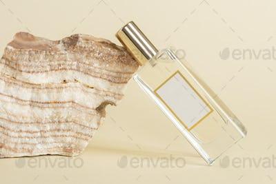 Blank perfume glass bottle design resource