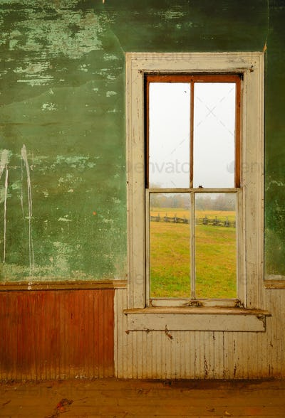 Window in Antique Home