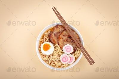 Japanese nodle soup ramen