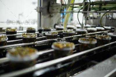 Production of seaweed salad