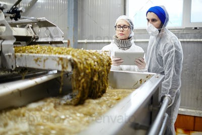 Food production control