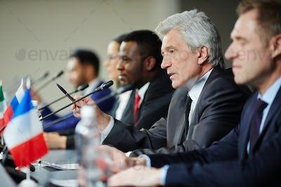 Speech of delegate
