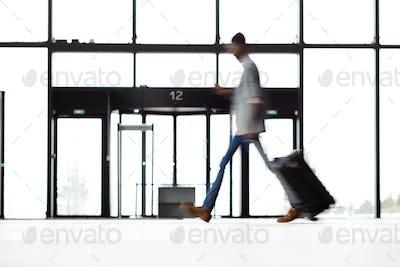 Traveler moving