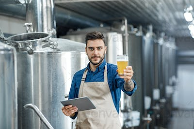High quality products, drink industry and beer style
