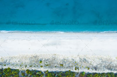 Overhead Mediterranean Summer Coast Sea