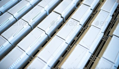 Universal plastic cases for the manufacture of serial radio-electronic products