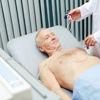 Heart examining
