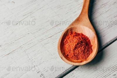 Spoonful of chili powder