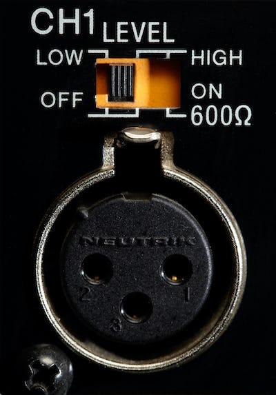 XLR input