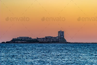 Castle of Sancti Petri, San Fernando, Cadiz, Spain