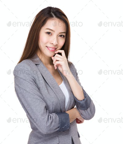 Asian business officer