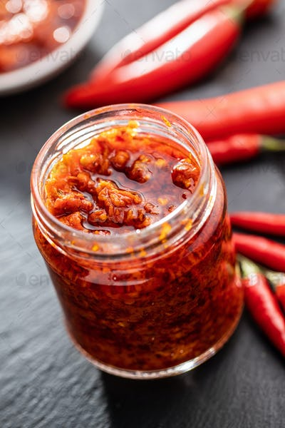 Red hot chili paste