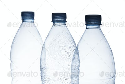 Empty water bottle