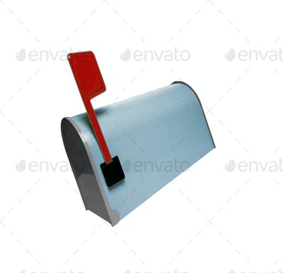 Mailbox isolated on white