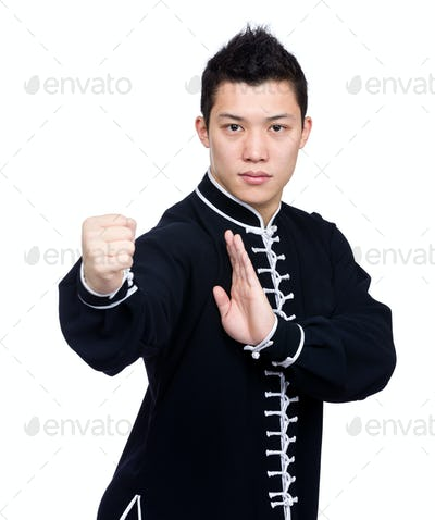 Chinese martial art posture