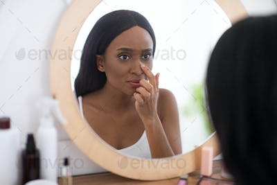 Problem skin during menstruation, acne, pimples and hyperandrogenism